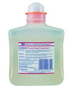 Cutan Foam Hand Sanitiser 1 litre