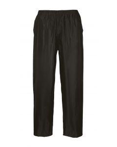 Classic Adult Rain Trousers, Black XL