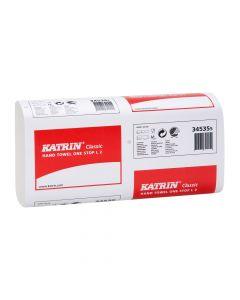 Katrin Classic Narrow One Stop Hand Towel, White 2 ply