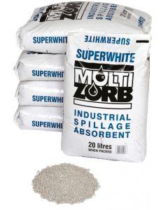Super White Multi Zorb Absorbent Granules 20 litre