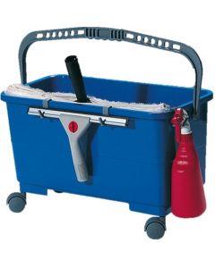 Set of 4 Castors For Window Cleaners 24 litre Bucket