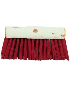 "13"" Yard Brush Red PVC"