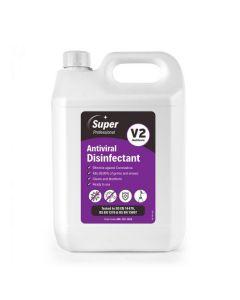 Super Professional Antiviral Disinfectant V2 5lt